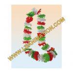 Una stupenda collana hawaii con i colori dell'italia